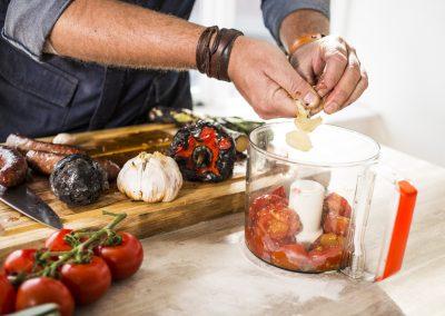 gegrilde tomatensaus