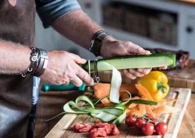 groente snijden